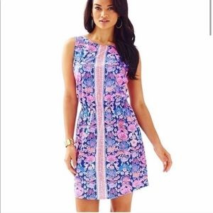 Lilly Pulitzer Windward Iris Blue Dress